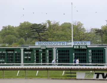 A view of Monmouth Park Racetrack in Oceanport, N.J., Monday, May 14, 2018. The Supreme Court on Monday gave its go-ahead for states to allow gambling on sports across the nation, striking down a federal law that barred betting on football, basketball, baseball and other sports in most states. (AP Photo/Seth Wenig)