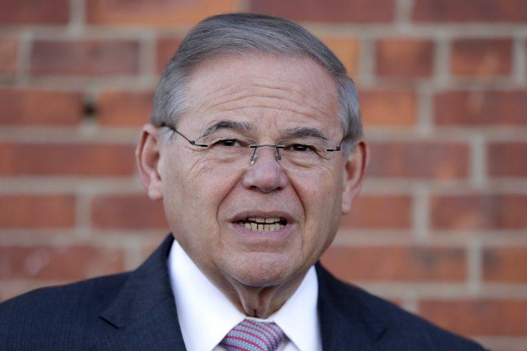 U.S. Sen. Bob Menendez.