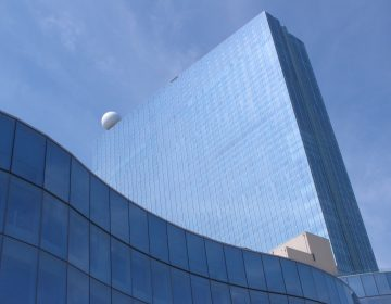 This June 18, 2018, photo shows the exterior of the Ocean Resort Casino in Atlantic City, N.J. On Thursday June 21, the New Jersey Casino Control Commission granted the facility a casino license, a week before it was to reopen. The property is the former Revel casino. (AP Photo/Wayne Parry)