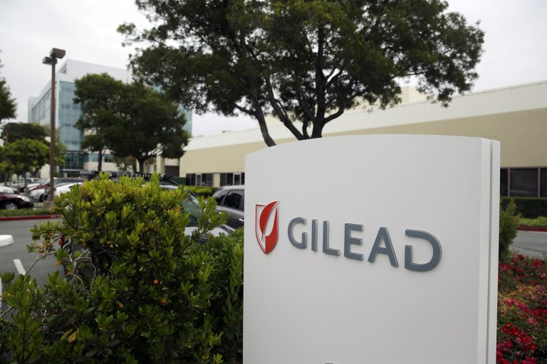 The headquarters of Gilead Sciences in Foster City, California. Confronting the consequences of high-priced drugs, the Obama administration in 2015 reminded states they cannot legally restrict access by low-income people to revolutionary cures for liver-wasting hepatitis C infection. Among the companies getting federal letters was Gilead Sciences, maker of market-leading Harvoni.  (Eric Risberg/AP file)