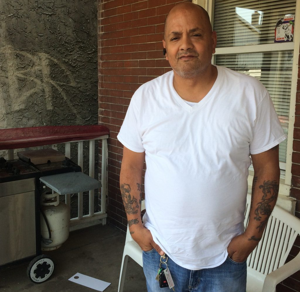 Feliciano Pagano at his Northeast Philadelphia home. The area is considered a food desert in its offerings of healthy, convenient affordable groceries.