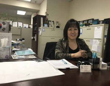Susan Moon, an insurance agent who grew up in Montgomery County, has worked in South Korea. She thinks the nature of volatile leaders Donald Trump and Kim Jong Un helped break down the longstanding chill between the U.S. and North Korea. (Laura Benshoff/WHYY)