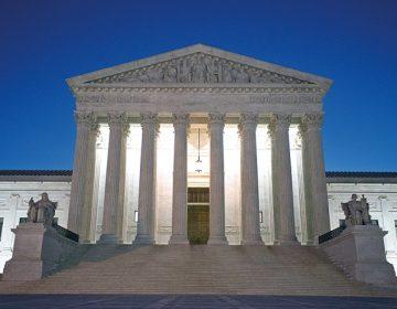 Budynek Sądu Najwyższego w Waszyngtonie fot.Michael Reynolds/EPA
