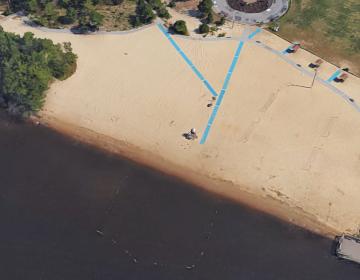 Windward Beach in Brick, N.J. (Google Maps image)