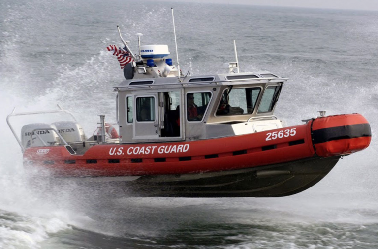 ferry crew coast guard rescue 4 from sinking boat off n j down