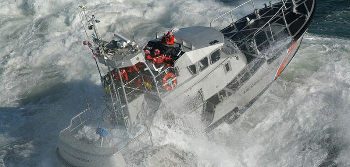 A Coast Guard file photo of a 47-foot Motor Lifeboat.