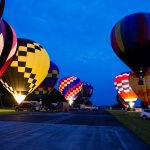 Hot air balloons take flight at the Chester County Balloon Festival (Credit: Gregory Cazillo)