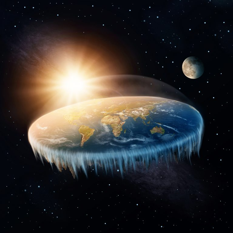 Basketball player Kyrie Irving didn't exactly deny that the Earth was round. He instead called for wider debate about it, especially in our schools. (Egal/Bigstock)