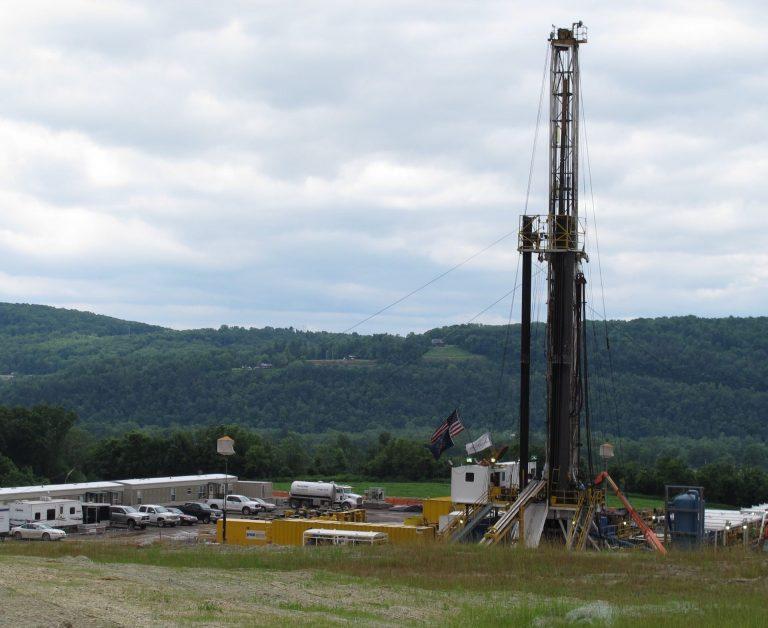 A Bradford County drilling rig.