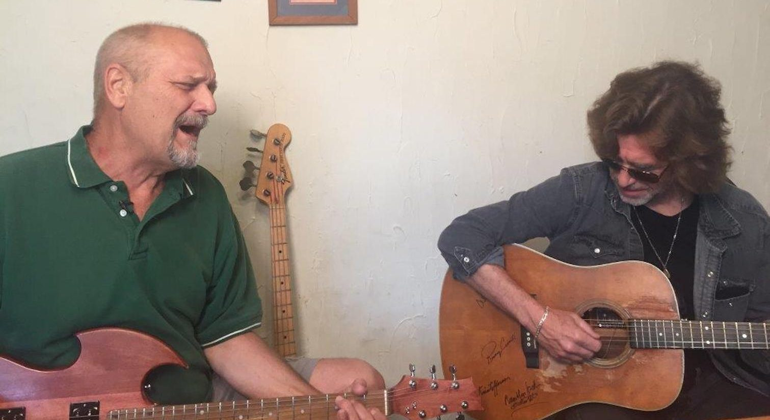 A rejuvenated Jim Bennett and his old bandmate John Flynn played a couple of songs for WHYY, including a rousing rendition of