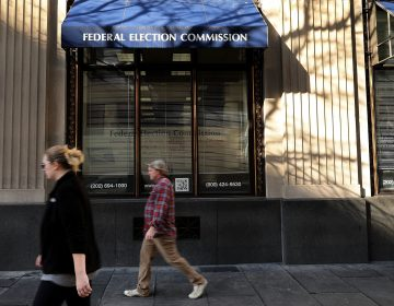 A 2016 file photo of the Federal Election Commission's headquarters in Washington, D.C. The campaign finance agency is considering new disclosure rules for online political ads. (Chip Somodevilla/Getty Images)