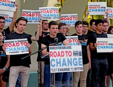 The March For Our Lives movement is hitting the road this summer to register young people to vote ahead of the November mid-term elections. (Miami Herald/TNS via Getty Images)
