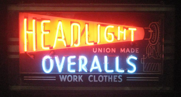 Selections from Len Davidson's collection of over 150 vintage neon signs, mostly from the Philadelphia area. He's currently trying to find a home for his Neon Museum of Philadelphia. (Credit: Len Davidson)