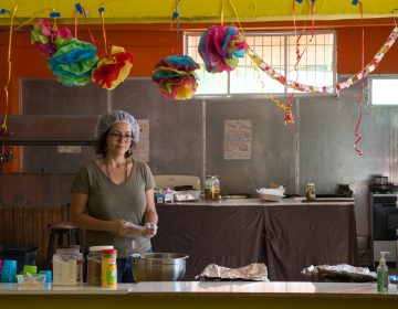 Nine days after the Hurricane Maria struck, Emilú De León and other volunteers opened a kitchen to serve meals to the people of Caguas. The first day, they fed 600, De León sa