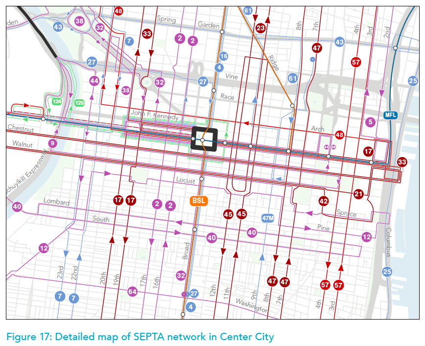 Overhauling its bus network may be on SEPTA's schedule soon ... on berlin bus map, wmata bus map, ac transit bus map, philadelphia bus map, coach usa bus map, boston bus map, chicago bus map, smart bus map, ride on bus map, nj transit bus map, center city bus map, cleveland rta bus map, mbta bus map, vre bus map, metro bus map, kennedy plaza bus map, vancouver bus route map, bart bus map, short line bus map, sf bus map,