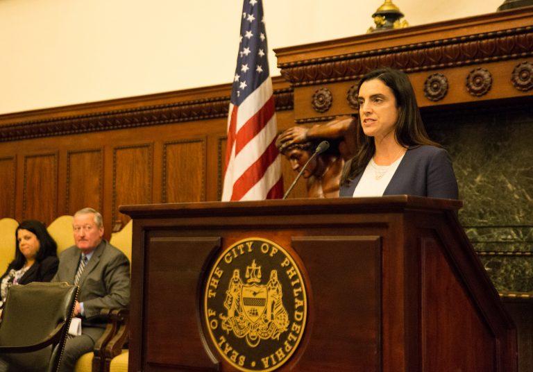 Philadelphia City Controller Rebecca Rhynhart (Lindsay Lazarski/WHY)