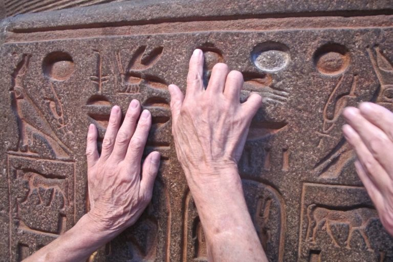 On July 7, visually impaired visitors to the Penn Museum will be able to touch certain ancient artifacts. (Credit: Penn Museum)