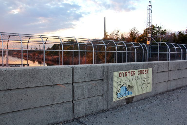 Oyster Creek was New Jersey's first nuclear generation station, opened in 1967. It will shut down Sept. 17. (Emma Lee/WHYY)