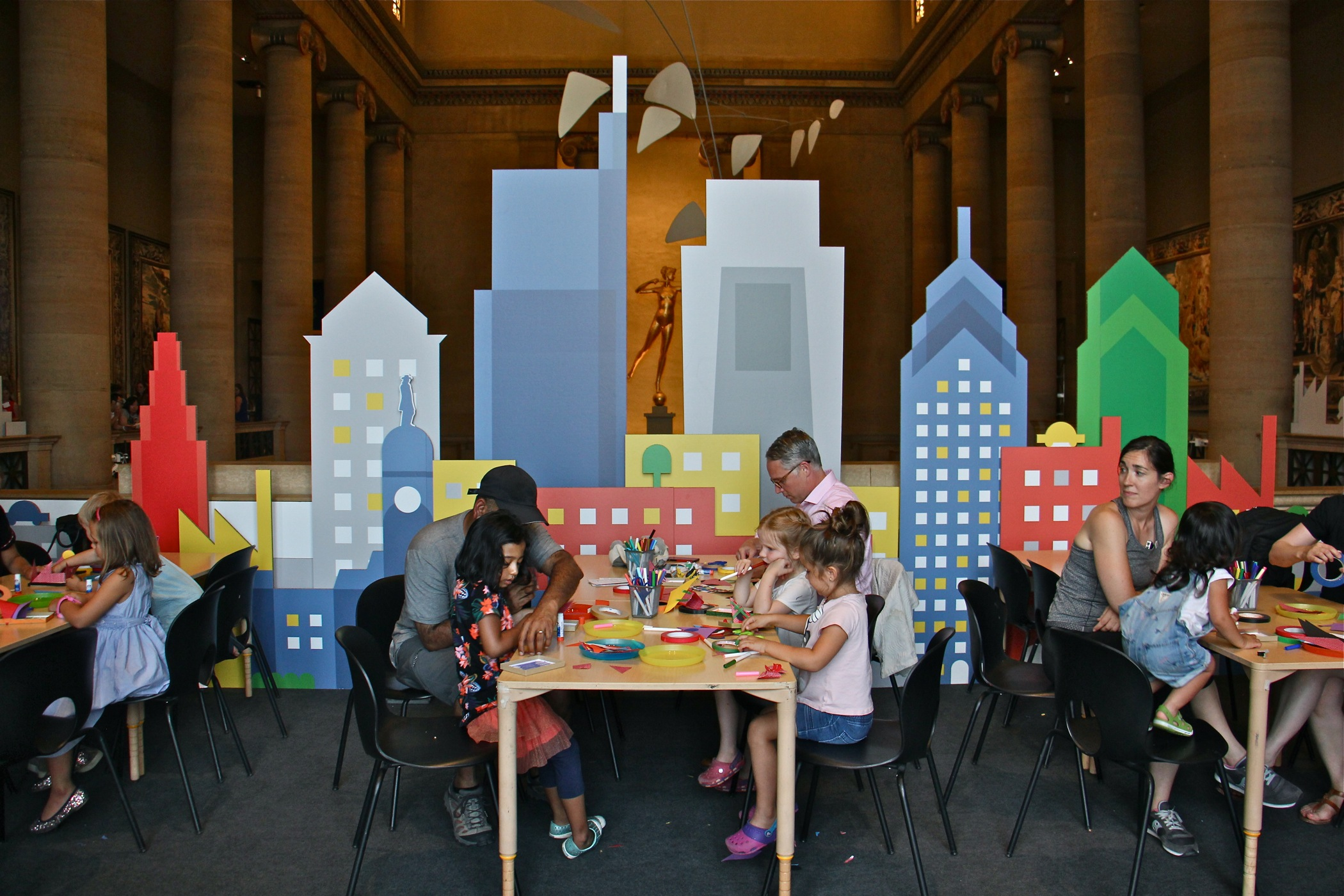Art Museum Summer Program Caters To Young Modernists Whyy