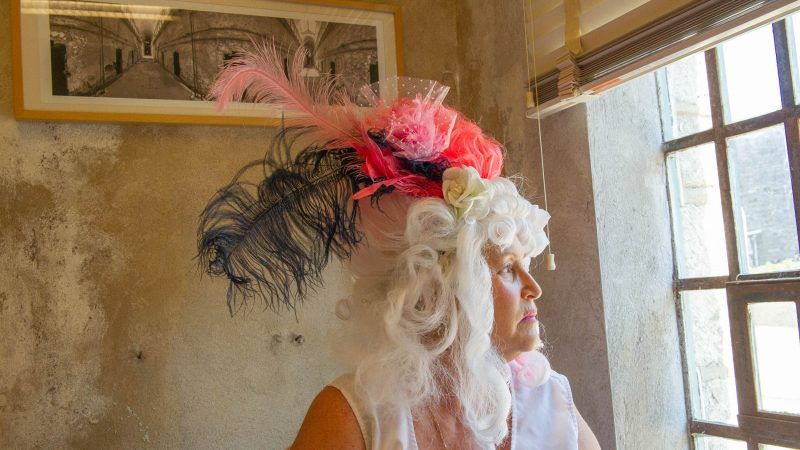 For nearly a quarter century Terry McNally has played Marie Antoinette for Philadelphia's Bastille Day satirical celebration in the city's Fairmount section. She put her wig on for the last time Saturday.