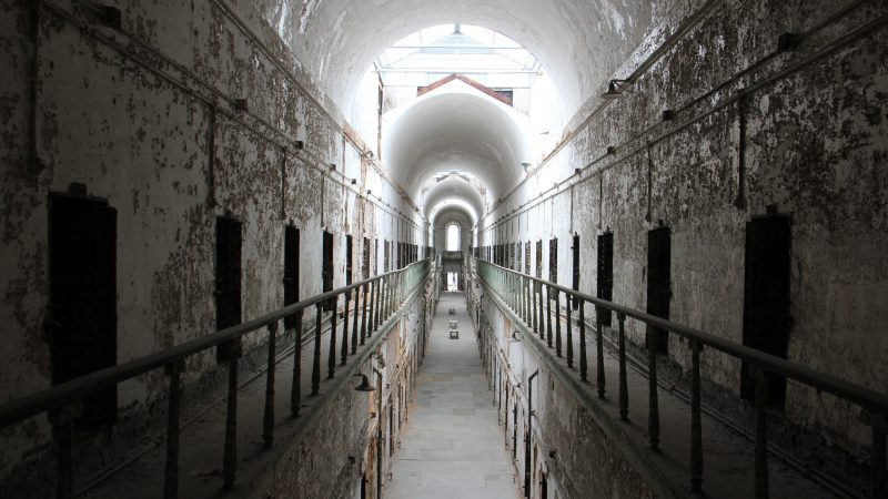 Eastern State Penitentiary  deteriorated between the time it closed as a prison in 1971 and when it opened for tours in 1994. (Emma Lee/WHYY)