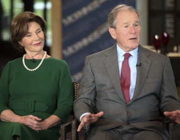 Former President George W. Bush and Laura Bush