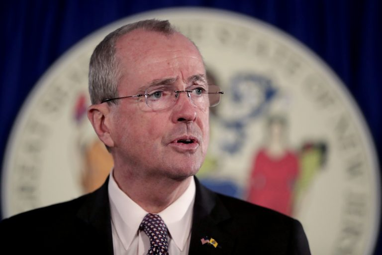 New Jersey Gov. Phil Murphy  (AP Photo/Julio Cortez)