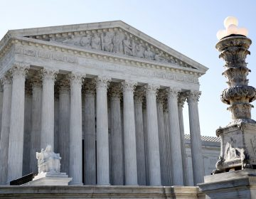 The Supreme Court is seen Monday, July 9, 2018, in Washington.