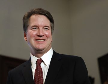 """In this July 26, 2018, photo, Supreme Court nominee Judge Brett Kavanaugh meets with Sen. Jim Inhofe, R-Okla., on Capitol Hill in Washington. More than a decade after he served as what's been called the president's """"inbox and outbox,"""" Kavanaugh's role as White House staff secretary to President George W. Bush has become a flashpoint as Republicans push his confirmation to the Supreme Court. (AP Photo/Jacquelyn Martin)"""