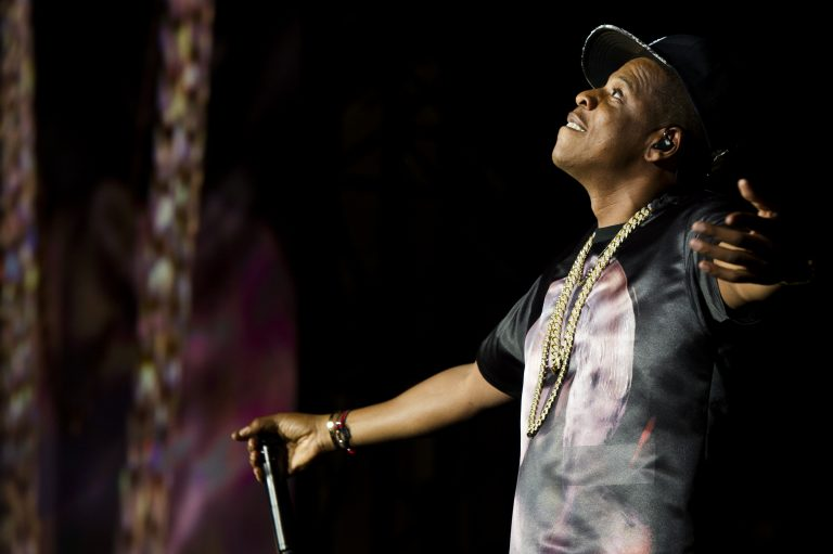 In this Sept. 1, 2012, file photo, Jay Z performs at the
