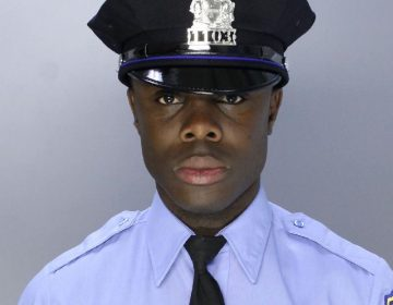 Philadelphia police officer Fred Attakora, 38, was shot by a stray bullet during a July 4 blockpary, authorities say (Provided)