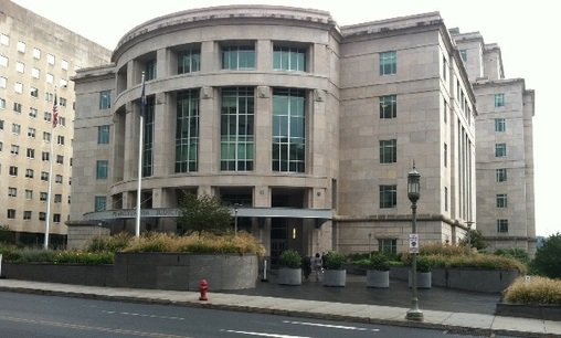 The state Judicial Center in Harrisburg, where the Supreme Court spends part of its time. (AP Photo)