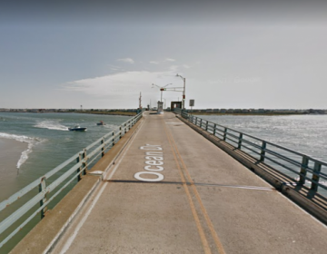 Townsends Inlet Bridge, connecting Avalon and Sea Isle City, New Jersey. (Google Maps)