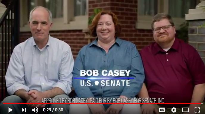 (Bob Casey for Senate/YouTube)