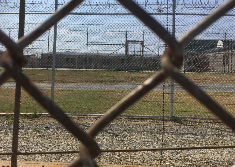 Vaughn prison in Smyrna, Delaware was the scene of a deadly riot in February 2017.  (Zoë Read/WHYY)