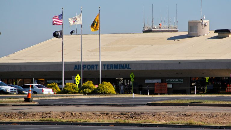 More and more passengers are flocking to Trenton-Mercer Airport in Ewing, New Jersey. (Emma Lee/WHYY)