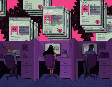 Without scrutiny, insurers and data brokers are predicting your health costs based on public data about things like race, marital status, your TV consumption and even if you buy plus-size clothing. (Justin Volz for ProPublica)