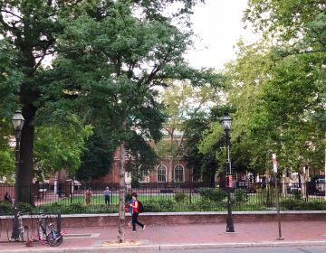 James Wilson Park at Second and Market streets, alongside Christ Church, is underused despite its potential -- and its location.