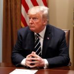 President Trump told reporters on Tuesday that he has
