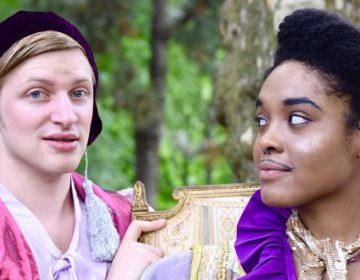 Twelfth Night, presented by Shakespeare in Clark Park, features gender-blind casting and an open-air performance. (Credit: Hannah Van Sciver)