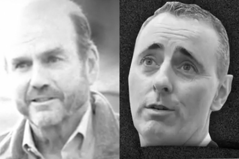 Democratic candidate Scott Wallace (left) and Republican U.S. Rep. Brian Fitzpatrick will face off in November. Attack ads have already begun. (Youtube)