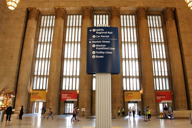 Lobby at 30th Street Station. (Emma Lee/WHYY)
