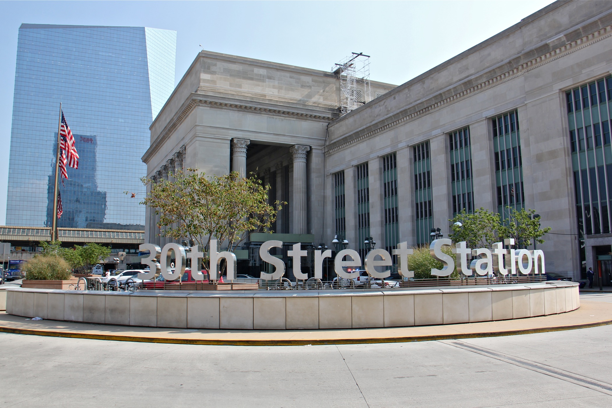 Exterior of 30th Street Station