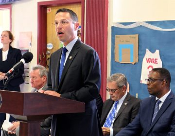 Pennsylvania Attorney General Josh Shapiro announces the formation of a federal, state and local task force to reduce gun violence.