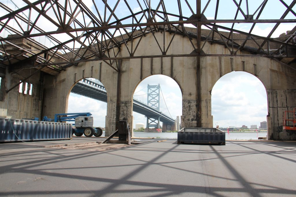 The 93-year-old Cherry Street Pier is being transformed into a public space with artists' studios.