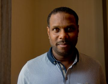 Nolan Williams Jr. is the curator of the Philadelphia Community Mass. (Kimberly Paynter/WHYY)