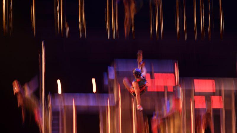 Cirque Du Soleil's Volta acrobats perform