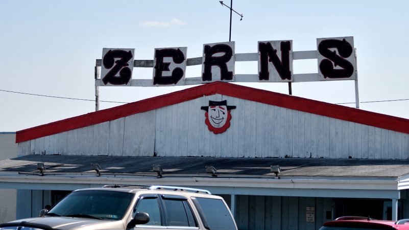 Zern's Farmers Market, located on Route 73 in Gilbertsville, Montgomery County, opened in 1922. The market is expected to  close at the end of September. (Bastiaan Slabbers for WHYY)