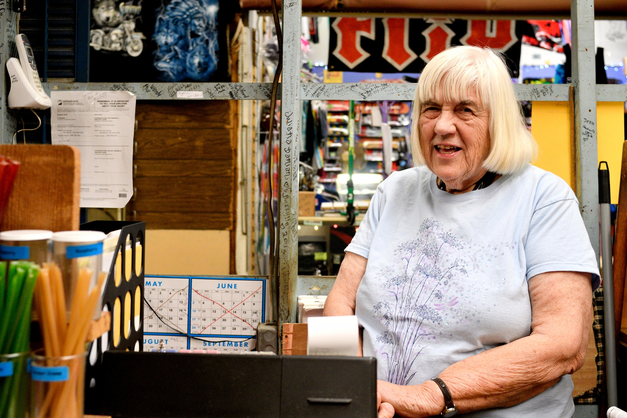 Spices 'N Such owner Lorraine Brinkmann, a longtime vendor at Zern's, will reopen as early as October 5 at a new location in Pennsburg.