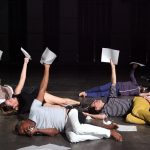 The ensemble in French choreographer Boris Charmatz's